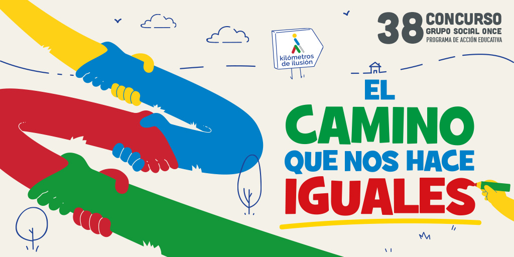 ¡Empieza el 37 Concurso ONCE, programa de sensibilización educativa! La inclusión por bandera.